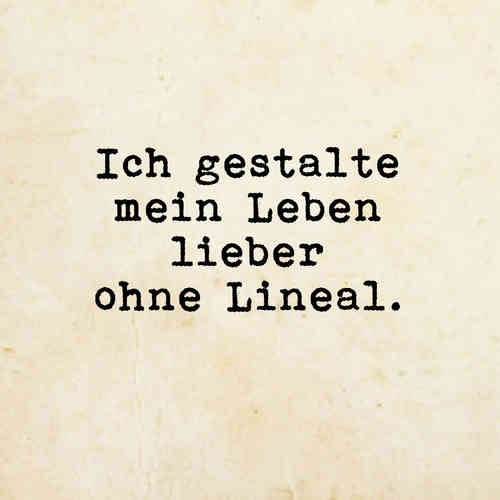 ohne Lineal